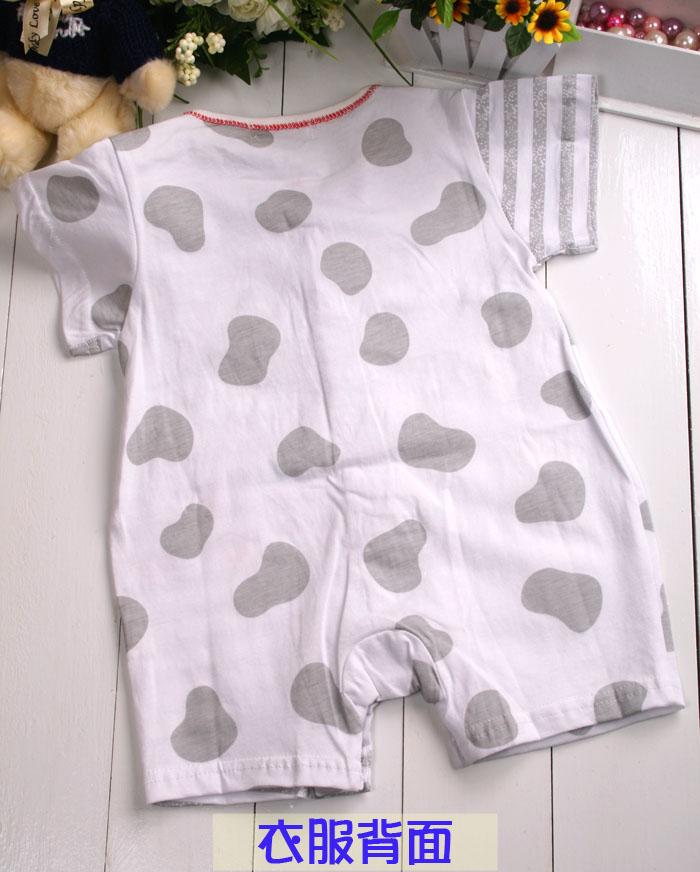 宝宝造型连体衣裁剪图;
