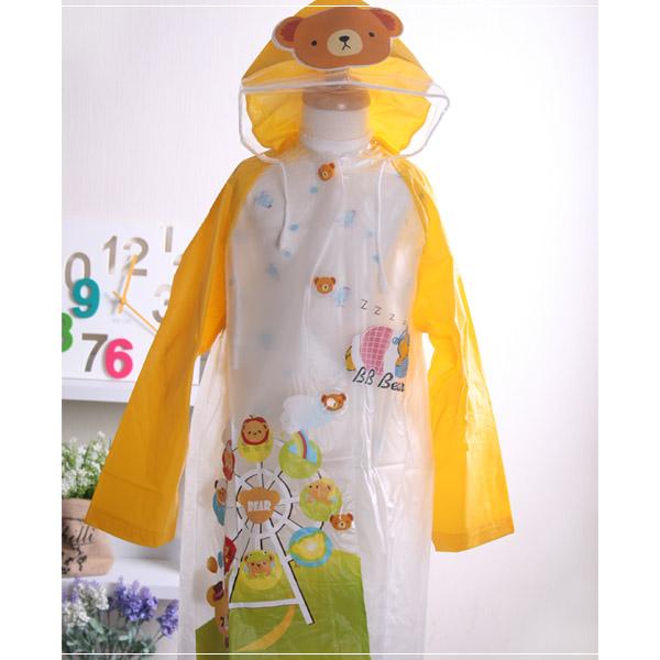 魔法baby ~儿童时尚彩色雨衣~可爱又时尚的色彩及图案~k18950