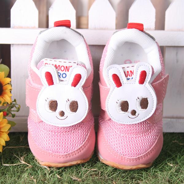 魔法baby ★【kuki 酷奇俏皮可爱兔兔造型公仔鞋☆女童鞋☆s2149